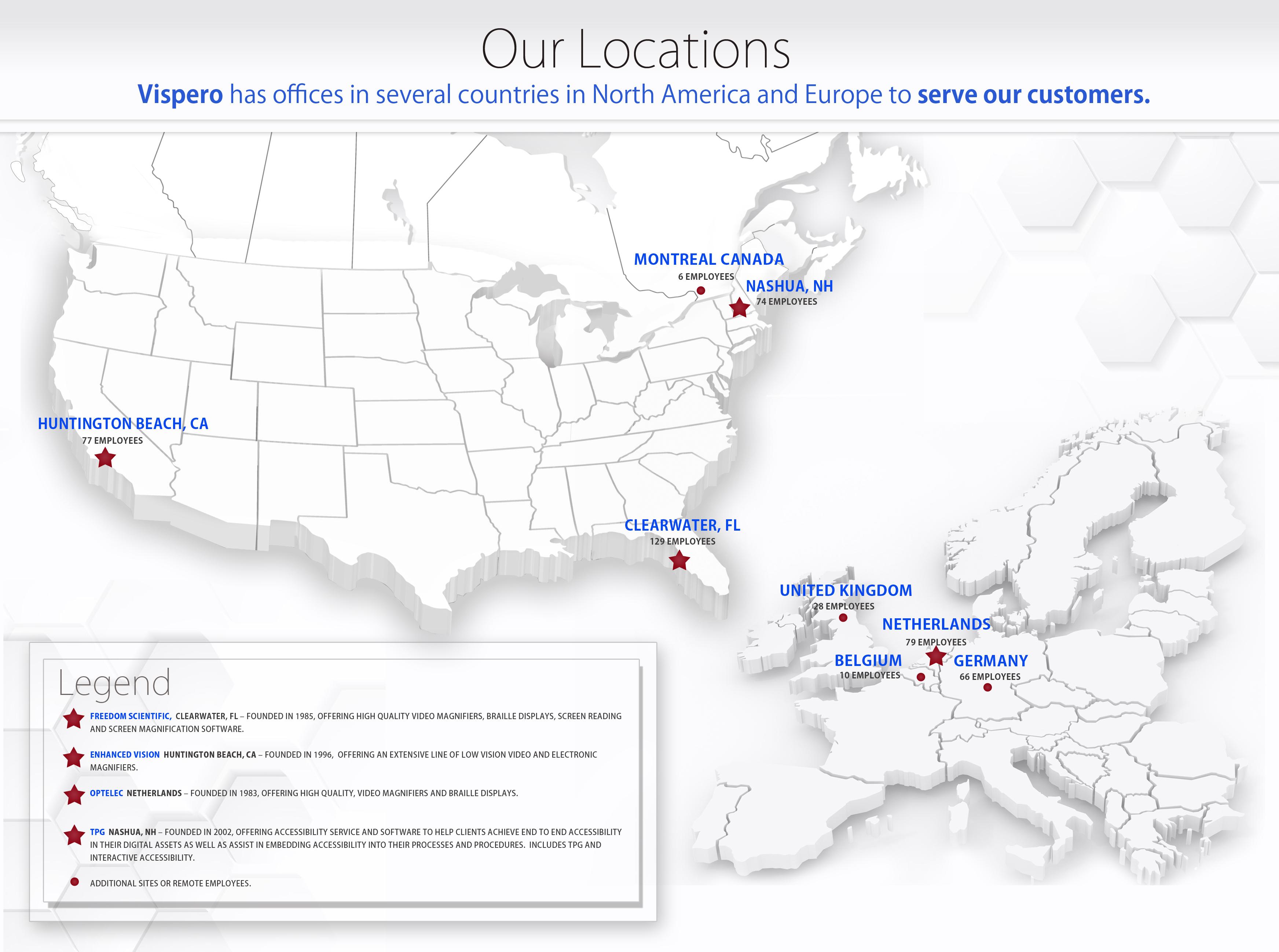 map of vispero locations